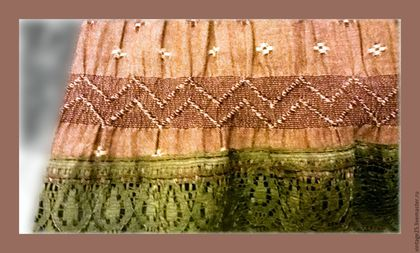Одежда. Ярмарка Мастеров - ручная работа. Купить Винтажная юбка. Handmade. Комбинированный, винтажная юбка