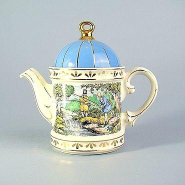Винтаж ручной работы. Ярмарка Мастеров - ручная работа Винтажные чайники: Английский чайник. Handmade.