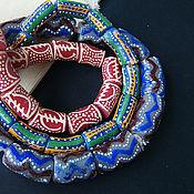 Материалы для творчества handmade. Livemaster - original item Krobo beads Africa Ghana 3 kinds of cylinder. Handmade.