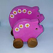 Куклы и игрушки handmade. Livemaster - original item Pig-catalucci Daisies