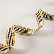 "Материалы для творчества handmade. Livemaster - original item Тесьма ""Шотландка"", 25 мм. Handmade."