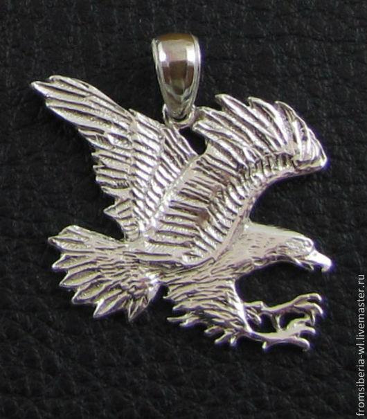 Кулоны, подвески ручной работы. Ярмарка Мастеров - ручная работа. Купить Подвеска орел (КН 42) серебро 925. Handmade.