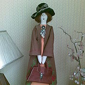 """Куклы и игрушки ручной работы. Ярмарка Мастеров - ручная работа Тильда """"Любимая учительница"""". Handmade."""