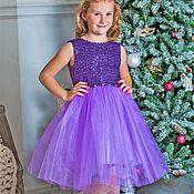 """Платье ручной работы. Ярмарка Мастеров - ручная работа Платье для девочки """"Селена"""". Handmade."""