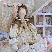 Куклы и игрушки ручной работы. Ярмарка Мастеров - ручная работа Кукла-тильда Марусечка. Handmade.