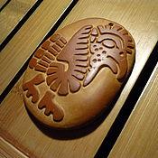 """Фен-шуй и эзотерика ручной работы. Ярмарка Мастеров - ручная работа Талисман """"Кетцаль - священная птица ацтеков""""  - резьба по камню. Handmade."""