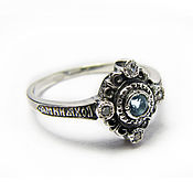 Украшения handmade. Livemaster - original item Silver ring Save and Protect. Handmade.