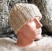 Аксессуары handmade. Livemaster - original item Hat from a mixture of sheep and camel wool. Handmade.