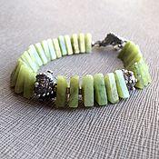 Украшения handmade. Livemaster - original item Bracelet made of natural stones Dragon. Jadeite, author`s accessories. Handmade.