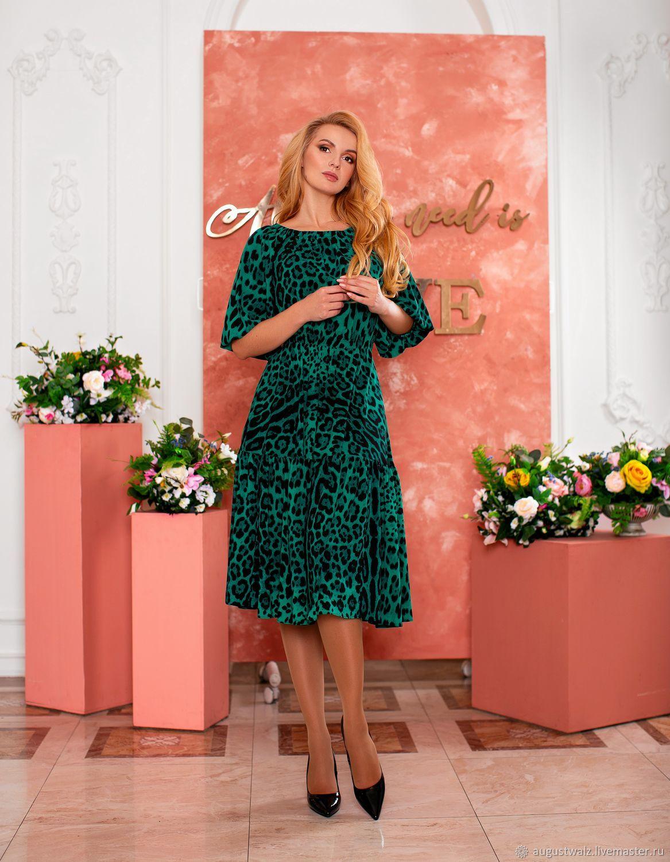 Летнее платье в миди длине, Платья, Санкт-Петербург,  Фото №1