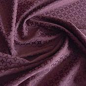 Fabric handmade. Livemaster - original item Italian woven jacquard costume-dress. Handmade.