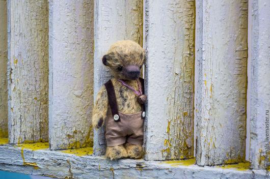 Мишки Тедди ручной работы. Ярмарка Мастеров - ручная работа. Купить Старичок Федя. Handmade. Желтый, милый подарок, старичок