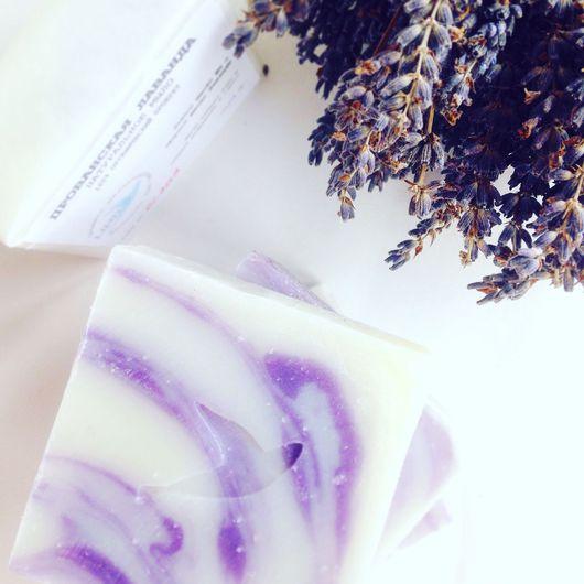 """Мыло ручной работы. Ярмарка Мастеров - ручная работа. Купить """"Прованская Лаванда"""" марсельское мыло. Handmade. Сиреневый, органическое мыло"""