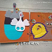 Куклы и игрушки handmade. Livemaster - original item Book baby with pussy.. Handmade.