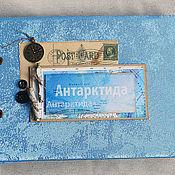 Канцелярские товары ручной работы. Ярмарка Мастеров - ручная работа Антарктида. Handmade.