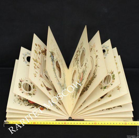 Винтажные предметы интерьера. Ярмарка Мастеров - ручная работа. Купить Фотоальбом викторианский цветы бабочка птица 3. Handmade. Комбинированный
