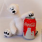 Куклы и игрушки ручной работы. Ярмарка Мастеров - ручная работа белый медведь Умка. Handmade.