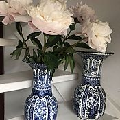 Винтаж handmade. Livemaster - original item Vase, handmade, Delft, Holland. Handmade.