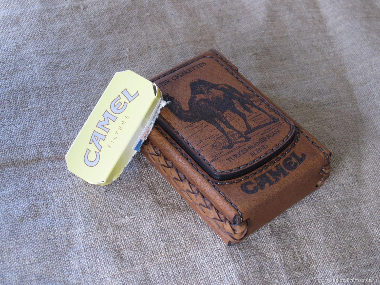 Cigarette case. sigaretta. Camel-2. Personalized gift, Cigarette cases, Nizhnij Tagil,  Фото №1