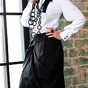 Одежда manualidades. Livemaster - hecho a mano Maxi skirt Eclat. Handmade.