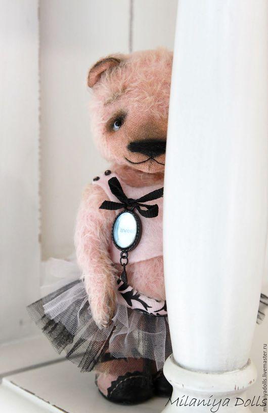 Мишки Тедди ручной работы. Ярмарка Мастеров - ручная работа. Купить Sweet bear. Handmade. Бледно-розовый, домашний уют