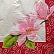 Нежный цветок лотоса. Декупажная радость.