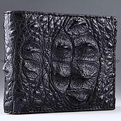 Сумки и аксессуары handmade. Livemaster - original item Wallet crocodile leather IMA0225B11. Handmade.