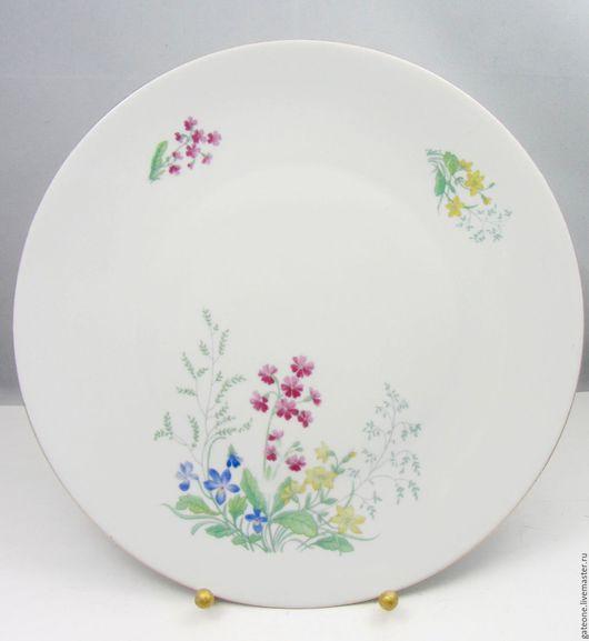 Винтажная посуда. Ярмарка Мастеров - ручная работа. Купить Zen  Zcherzer Весна   старое немецкое блюдо. Handmade. Немецкий фарфор