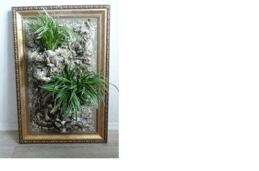 Интерьерные композиции ручной работы. Ярмарка Мастеров - ручная работа. Купить Вдохновение. Handmade. Картина, цветы, комнатные растения, подарок