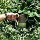 Вазы ручной работы. Керамические кувшины с орнаментами по мотивам латышских варежек. Irinanana. Ярмарка Мастеров. Лето, уютный дом, глазури