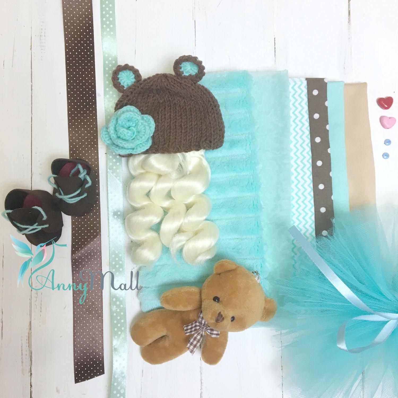 Набор для шитья куклы «Шоколад с мятой», Материалы для кукол и игрушек, Одинцово,  Фото №1