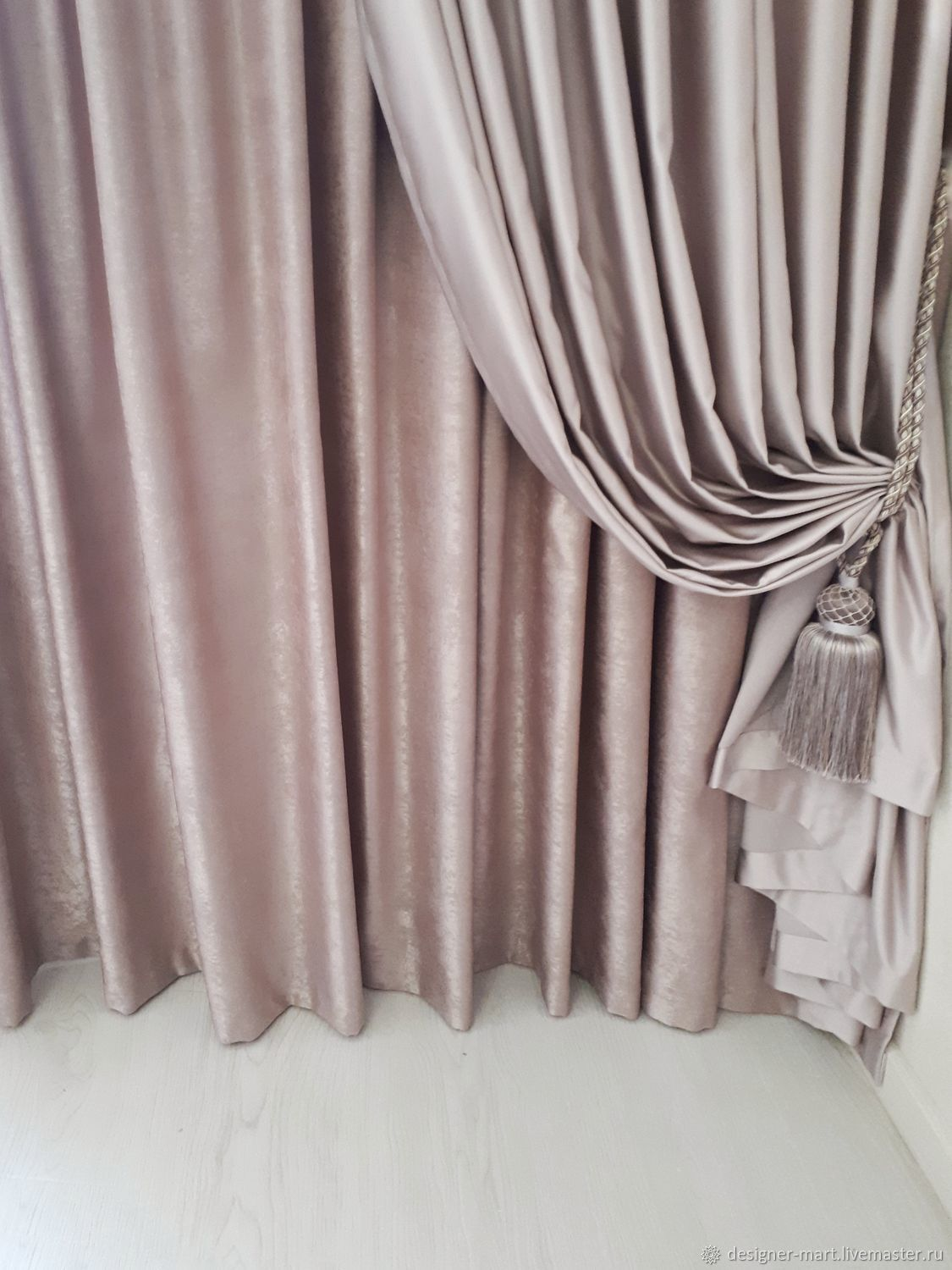 Pink Curtains For Bedroom Designer Mart