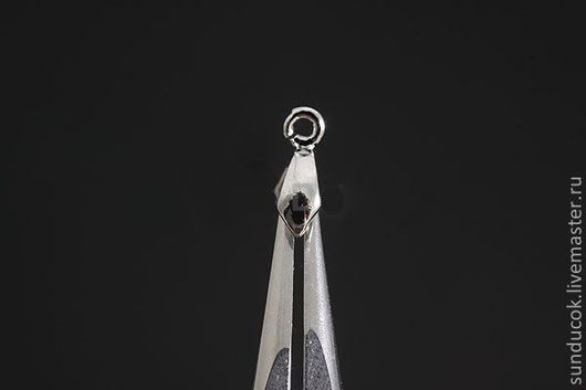 Для украшений ручной работы. Ярмарка Мастеров - ручная работа. Купить 710 Бейл  под серебро. Handmade. Металлическая фурнитура