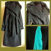 Одежда handmade. Livemaster - original item Coat of woolen pile fabrics. Handmade.