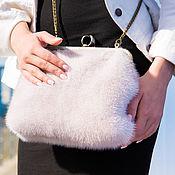 Сумки и аксессуары handmade. Livemaster - original item Clutch mink. Fur clutch bag. handbag made of mink. FUR HANDBAG.. Handmade.