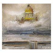 Картины и панно handmade. Livemaster - original item Pictures: St. Isaac`s Cathedral. Saint Petersburg. Handmade.