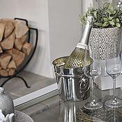 Бокалы ручной работы. Ярмарка Мастеров - ручная работа Бокалы: Куллер для шампанского с персональной гравировкой. Handmade.