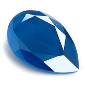 Капли 30х20 Swarovski Royal Blue Кристаллы Сваровски