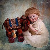Куклы и игрушки ручной работы. Ярмарка Мастеров - ручная работа Слоник на колесиках. Handmade.