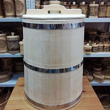 Для дома и интерьера ручной работы. Ярмарка Мастеров - ручная работа Бочка деревянная 75 литров. Бочка из кедра для воды бани засолки. Handmade.