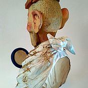 "Подарки к праздникам handmade. Livemaster - original item ""Парикмахер - Стилист - Косметолог"" - декоративная фигура. Handmade."