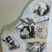 """Канцелярские товары ручной работы. Ярмарка Мастеров - ручная работа папка для бумаг """"Старое кино"""". Handmade."""