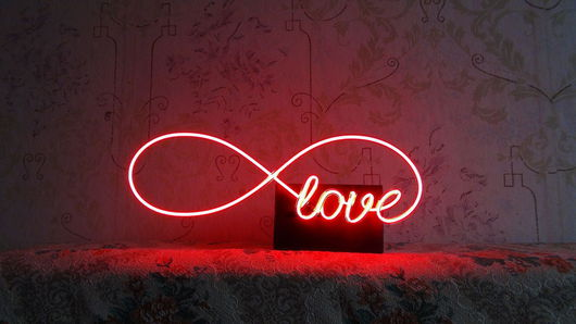 Освещение ручной работы. Ярмарка Мастеров - ручная работа. Купить Ночник светильник Любовь. Handmade. Ярко-красный, освещение