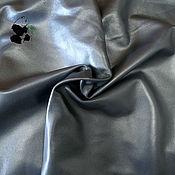 Материалы для творчества handmade. Livemaster - original item Genuine leather clothing. italy. Color gray (steel). Plate. Leaves.. Handmade.