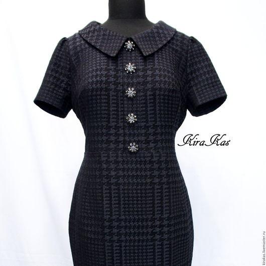 Платья ручной работы. Ярмарка Мастеров - ручная работа. Купить Женское платье. Handmade. Черный, Коктейльное платье, платье