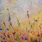Картины и панно handmade. Livemaster - original item The author`s oil painting