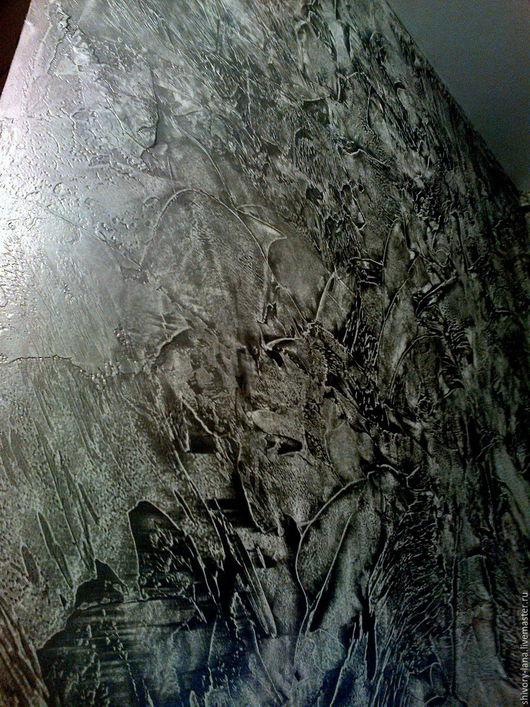 Декор поверхностей ручной работы. Ярмарка Мастеров - ручная работа. Купить отделка в стиле лофт и индастриал. Handmade. Стены, лофт
