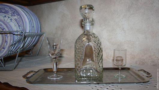 Винтажная посуда. Ярмарка Мастеров - ручная работа. Купить Штоф ... Графин ... 0,5 литра. Идеален. Красив.. Handmade. Белый