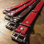 Зоотовары handmade. Livemaster - original item Collar for dog genuine leather. Handmade.