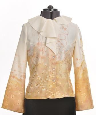 блузка элегантная,с налётом романтизма.